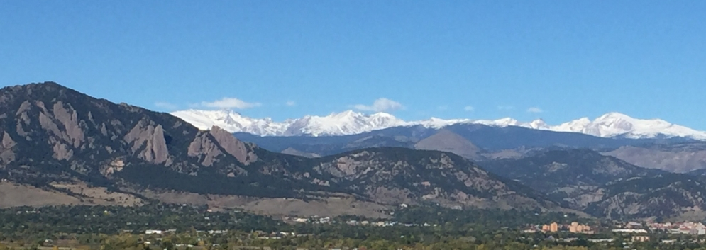 early autumn snowfall in the high country