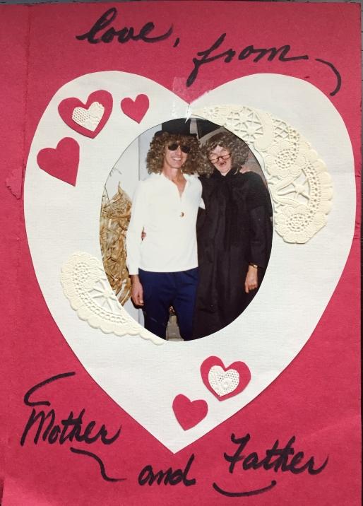 My favorite valentine, circa 1980.