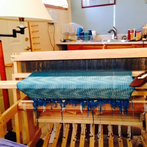 during its weaving, photo by BA
