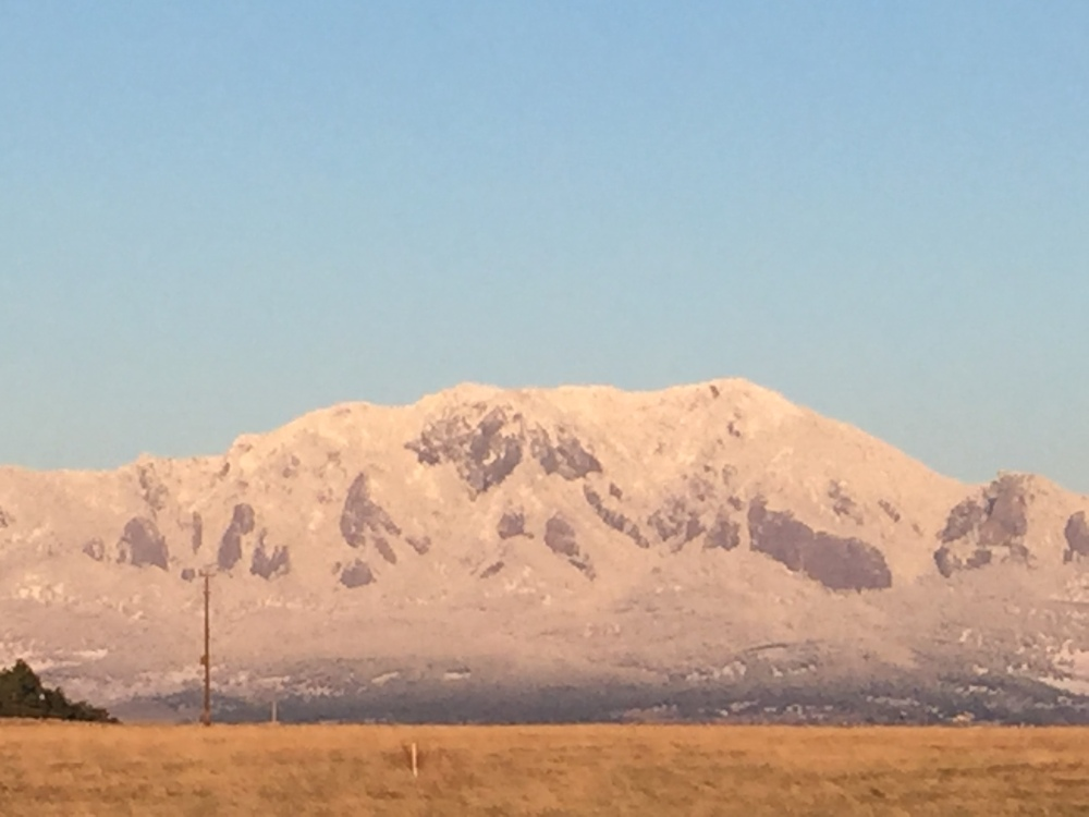 post snow bear peak