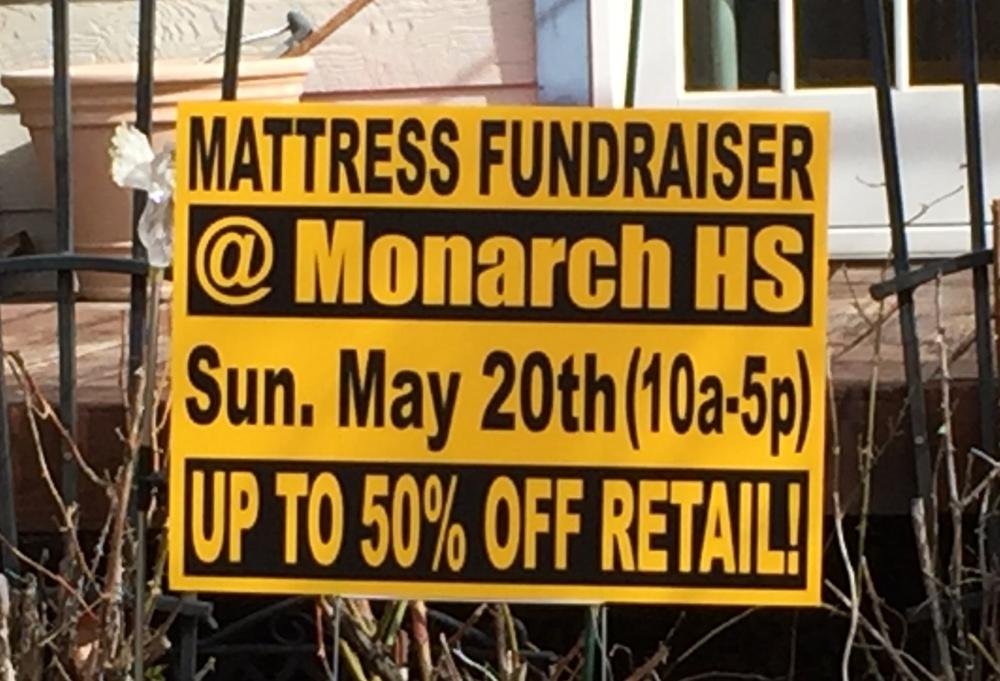 Sign--mattress